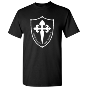 Shield T Black Front